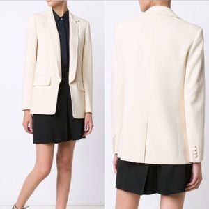 Alexander Wang Straight-Fit Open Front Blazer NWT